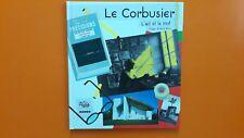 LE CORBUSIER L'OEIL ET LE MOT + PARIS POSTER GUIDE