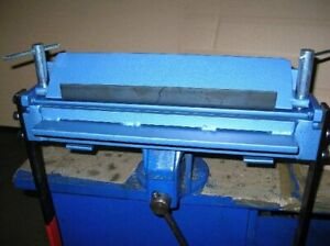 "Sheet metal bender, bending tool, bender tool 400mm / 3mm (15.8""), folder"