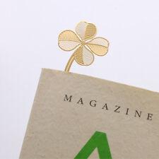 2pcs Styling Leaves Shape Bookmark Novelty Bookmark Stationery