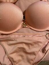 Victoria's Secret Adds 2 Sizes  Bombshell Bikini Swim  Set Top Size 34B Bottom M
