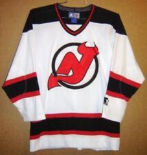 NEW JERSEY DEVILS WHITE MICRO MESH (Size Medium) NHL JERSEY