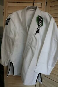 Elite Sports Lightweight Preshrunk White Women Top Jiu Jitsu BJJ Gi, F3