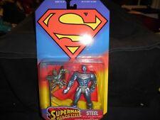 Kenner Super Man Man of Steel Steel John Henry Irons 1995 MIB