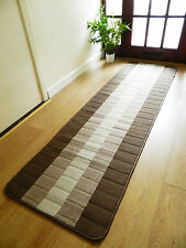 Machine Washable Non Slip Hall Runner Rugs Cheap New Long Easy Clean Hallway Mat