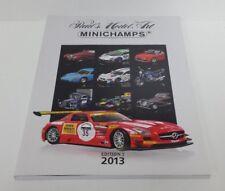 CATALOGO RIVISTA LIBRO MINICHAMPS PAUL'S MODEL ART EDIZIONE 1 E 2 ANNO 2013 NEW