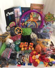 K'NEX Bulk Building Lot 4,937 Pieces Big Ball Factory Roller Coaster & More