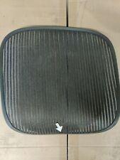 Herman Miller Aeron Chair Seat Mesh Black Pellicle With Blemish Size B 508