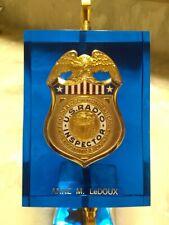 Vintage U. S. Radio Inspector Badge/ Hamm radio/commercial radio