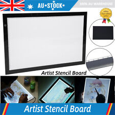 A2 LED Artist Ultra-Thin Art Stencil Board Light Tracing Drawing Pad Table Box