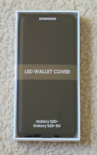 SAMSUNG Galaxy S20+ / S20+5G Official LED View Wallet Cover Case BLACK NEW!