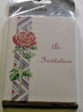PARTY INVITATION CARDS ANY OCCASION CARD 8 PACK INVITATIONS SEE MY OTHER ITEMS