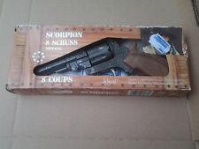 Ideal  - eine Kinder (Knall)Pistole  (Die Cast)-mit  Verpackung- Modell Scorpion
