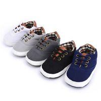 Newborn Baby Soft Sole Crib Shoes Infant Boy Girl Toddler Sneaker Anti-Slip Soft