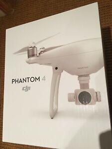 DJI Phantom 4 Aerial UAV Drone Quadcopter - White. New, Never Opened