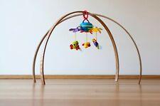 BABY GYM, Oak wood gym, Wooden baby gym frame, Montessori baby gym,