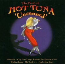 Hot Tuna The Best Of-Uncanned CD NEW SEALED 2000