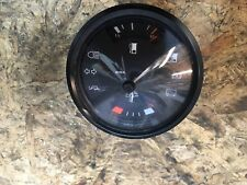 PORSCHE 924 924S Fuel & Temperature gauge / warning lights in Black early dash.
