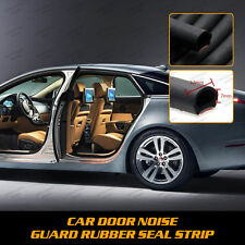 8M 26ft D-shape Car Door Rubber Trim Edge Protector Seal Hollow Strip fOR HOLDEN