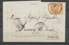 1868 Lettre N°23 Obl Bureau de Passe 1307 DIJON COTE-D'OR(20) X2616