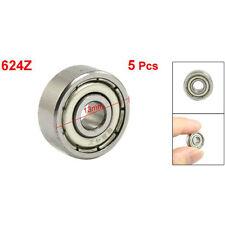 Schermato Micro Mini piccola ruota Cuscinetti 624Z 5 pezzi HKIT