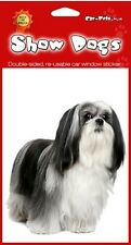 Lhasa Apso Double Sided Window Sticker Perfect Gift