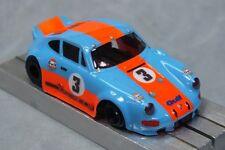 HO Slot Car Parts - HCS Porsche 911 RS Clear .010 Lexan Body Lot of 2 MASK Kits