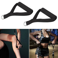 Exercise Pull Resistance Bands Fitness Rope Gym Handles Grips Training Equipment