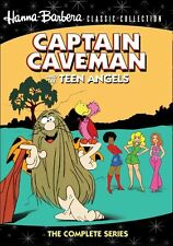 Captain Caveman and the Teen Angels Complete Series Hanna-Barbera Cartoon DVD TV