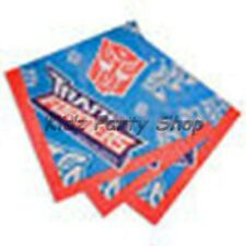 TRANSFORMERS - 16 NAPKINS  - BOYS BIRTHDAY PARTY -