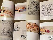 Functionalized illustrations of Europe Eroticism issue Prohibited 2 Books Set