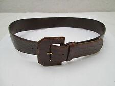 AUTHENTIQUE  ceinture COCCINELLE   cuir  TBEG  vintage