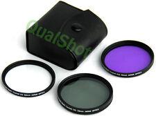 58mm 58 FILTER Kit UV CPL FDL FOR SONY DSR-PD100