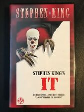 Stephen King IT Sealed VHS Tape English with dutch subs