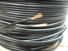 20M 20 metres Speaker Cable Wire 2 x 13 strand  Hi-Fi, Car, Home Audio Black