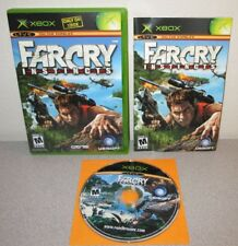 FAR CRY Instincts Microsoft XBOX Complete w/Manual CRYTEK Ubisoft Shooter