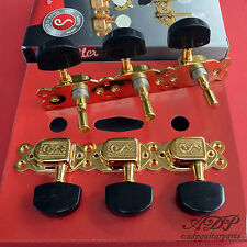 Meca Schaller Classicdeluxe Selmer Stylevintage Tuners Jazz Manouche Gold Ebony