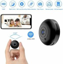 Mini Hidden-Camera WiFi-Spy Camera Wireless 1080P, Oucam Small Spy Cam Nanny Cam