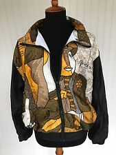 Vtg Pablo Picasso 80's 90's Painter Top Jacket M Art Abstract Cubism Unique Coat