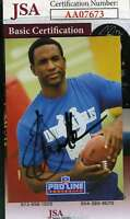 Eric Dickerson 1991 Pro Line Jsa Coa Hand Signed Authentic Autograph