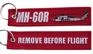 MH-60R Romeo Seahawk Remove Before Flight Key Ring Luggage Tag