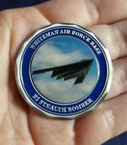 B-2 Stealth Bomber Whiteman Air Force Base MO GLOBAL STRIKE Challenge Coin