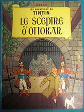 TINTIN LE SCEPTRE D'OTTOKAR CASTERMAN 1984