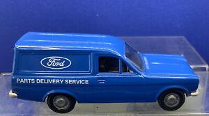 Corgi - Mk1 Ford Escort Van (61213) Ford Parts Delivery Service, Blue Nr Mint