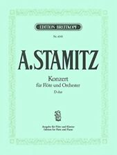 Flötenkonzert d-dur - flute, orchestra / Flûte et Piano