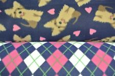 New listing Yorkies Yorkshire Terriers Hearts Dogs Pet Blanket Can Be Personalized 28x22