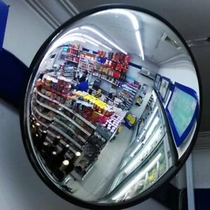 30cm Round Convex Mirror Blind Spot Safety Mirror Traffic Driveway Shop Junction