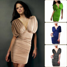 Clubwear Solid Dresses for Women with Ruched