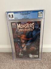 Marvel Comics MONSTERS UNLEASHED #3 Retailer Incentive CGC 9.8