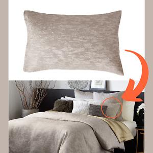 NIB $165 Donna Karan Alloy Collection [ 1 ] Standard Pillow Sham #383