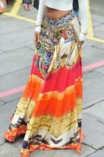 hippy/Bohemian/festi/summer paisley Printed Loose floaty Women's Skirt